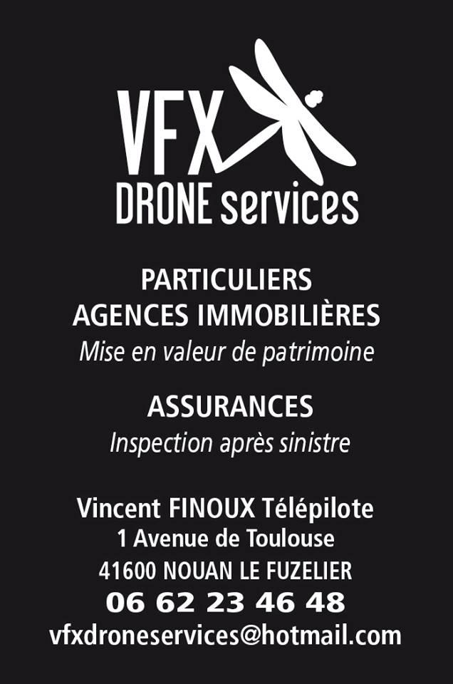 Carte De Visite VFX Drone
